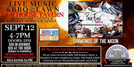 Diamonds of the Moon: Pink Floyd Tribute @ OUR HOUSE TAVERN tickets