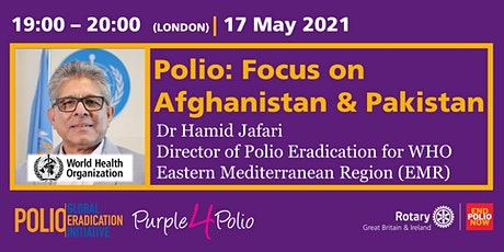 """Polio: Focus on Afghanistan and Pakistan"" tickets"