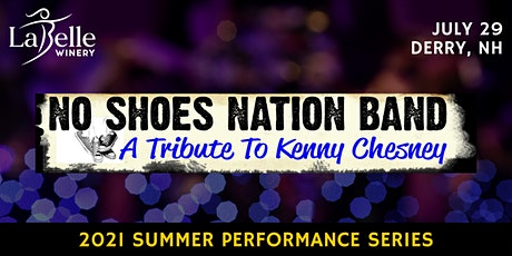 No Shoes Nation Band: A Tribute to Kenny Chesney tickets