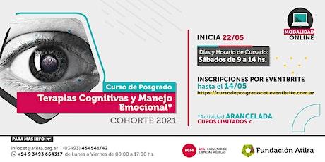 Curso de Posgrado  Terapias Cognitivas y Manejo Emocional | 2021 entradas