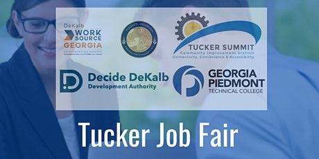 """Tucker """"Back to Business"""" Job Fair (Registration Form for Employers) tickets"""