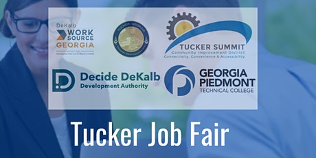 """Tucker """"Back to Business"""" Job Fair (Registration Form for Job Seekers) tickets"""