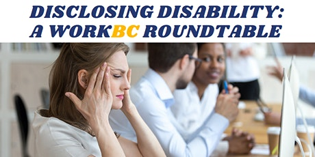 Disclosing Disability Roundtable tickets
