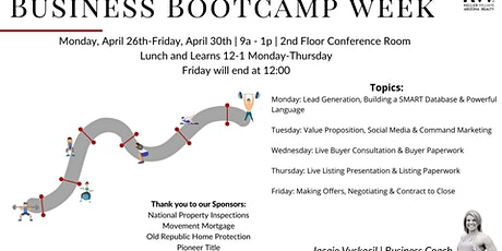 Business Bootcamp WEEK! tickets