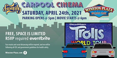 Carpool Cinema  at Winston Plaza - Trolls World Tour tickets