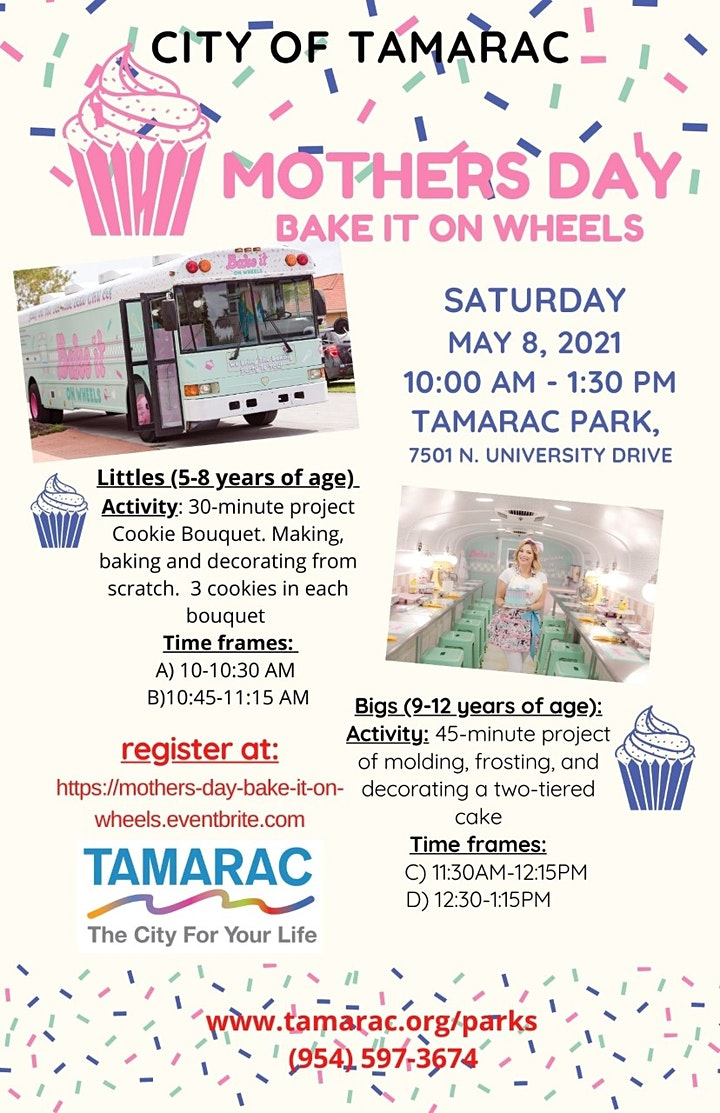 Mother's Day Bake it on Wheels image