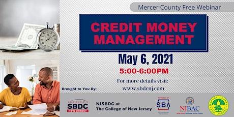 Credit Money Management tickets