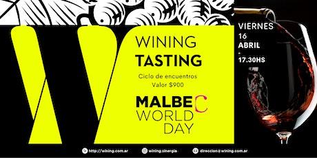 Wining Tasting #Malbec entradas