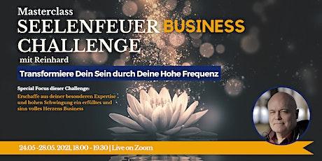 Masterclass: Seelenfeuer Business Challenge Tickets