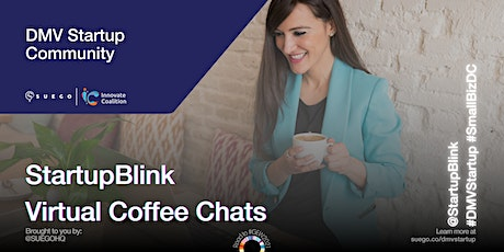 SUEGO Series: StartupBlink Virtual Coffee Chats tickets
