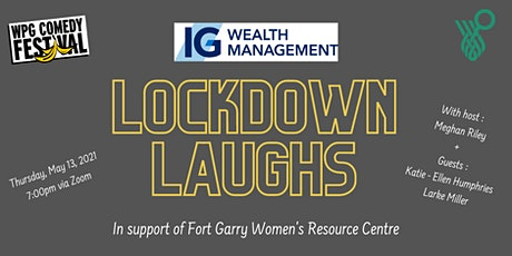 Lockdown Laughs -  A Virtual Night of Comedy tickets