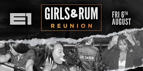 Girls & Rum: Reunion tickets