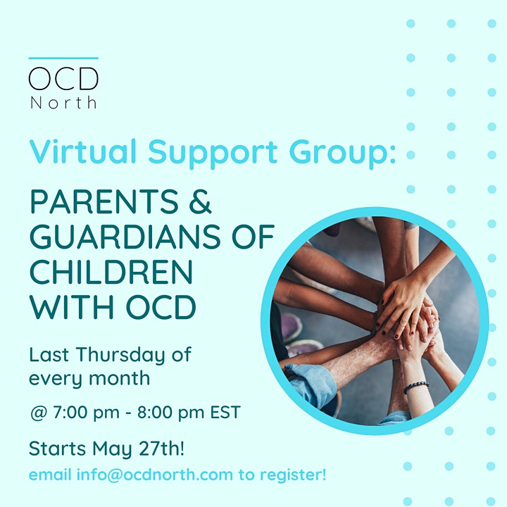 Free Virtual Support Group: Parents and Guardians of Children with OCD image