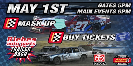 May 1st, 2021 NASCAR Night + Riebes Auto Parts Trailer Bash tickets