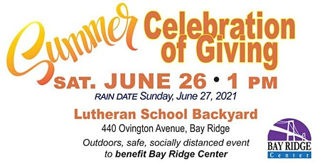 Summer Celebration of Giving tickets