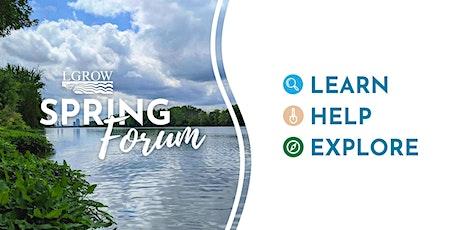 LGROW Spring Forum - WM Trails & Greenways River Walk Tour tickets
