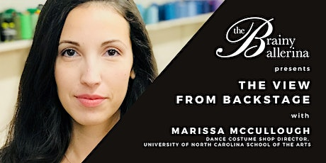The View from Backstage: Marissa McCullough tickets