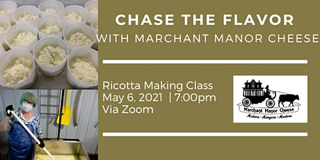Chase the Flavor with Marchant Manor Cheese tickets