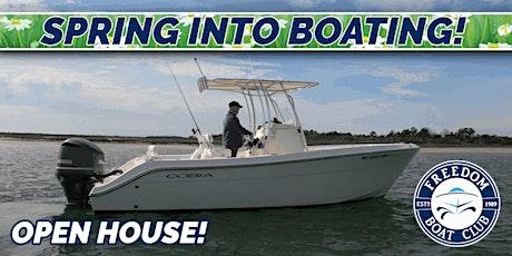 Freedom Boat Club Carolina Beach | Spring Kick Off Sale! tickets