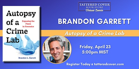 Live Stream with Brandon Garrett tickets