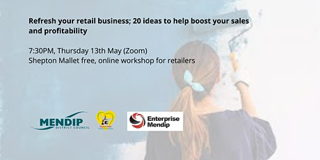 Refresh your retail business - free workshop for Shepton Mallet tickets