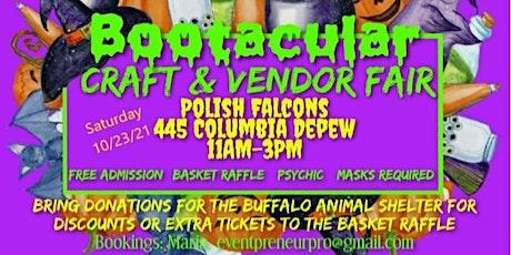 Boo Tacular Craft & Vendor Fair tickets