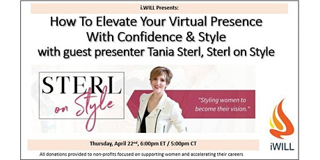 i.WILL Presents:  Spring Style Event with Tania Sterl from Sterl on Style tickets