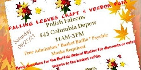 Falling Leaves Craft & Vendor Fair tickets