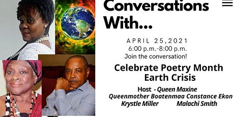 Conversations with... Celebrating Poetry Month tickets