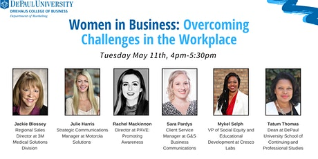 Women in Business: Overcoming Challenges in the Workplace tickets