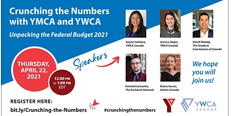 Crunching the Numbers with YMCA and YWCA - Unpacking Federal Budget 2021 tickets