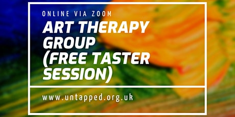 Art Therapy Group FREE TASTER SESSION  (online) tickets