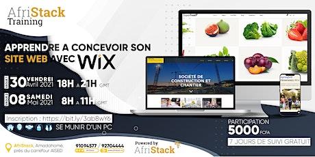 AfriStack Training : APPRENDRE A CONCEVOIR SON SITE WEB AVEC WIX billets