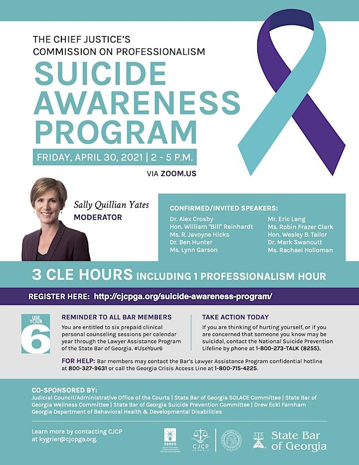04-30-2021 Suicide Awareness Program Registration image