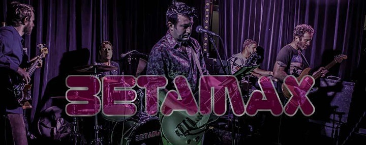 Live 80s by Betamax - Thistle Park Plymouth image