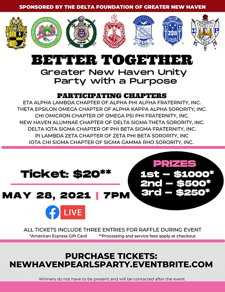 BETTER TOGETHER: Greater New Haven Unity Party With A Purpose image