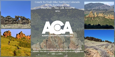 Couch To Trail - Devils Backbone Hike with Always Choose Adventures tickets