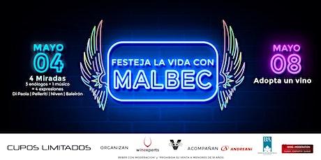 4 MIRADAS AL MALBEC. 3 ENÓLOGOS + 1 MÚSICO = 4 EXPRESIONES entradas