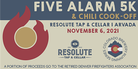 Five Alarm 5k & Chili Cook-Off @ Resolute Tap & Cellar tickets