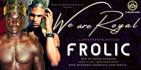 FROLIC - Men of Color Weekend 2021 tickets