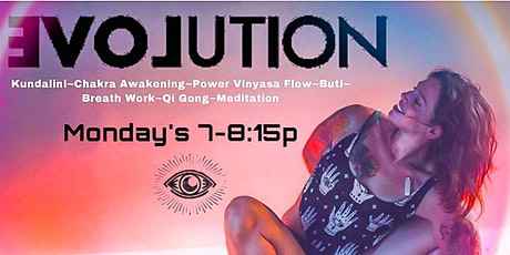 MONDAY Evolution YOGA with Lee tickets