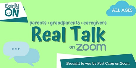 Real Talk with Parents - Bedtime Challenges and Setting Sleep Routines tickets