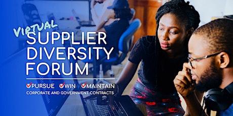 Supplier Diversity Forum tickets