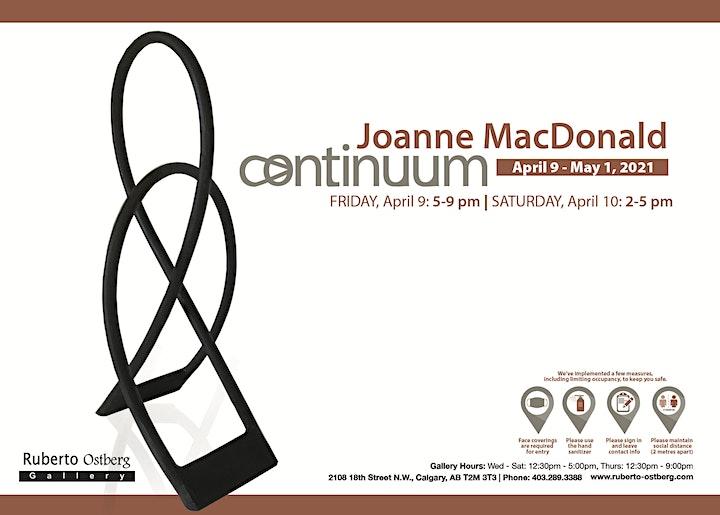 "Joanne MacDonald - ""CONTINUUM"" image"