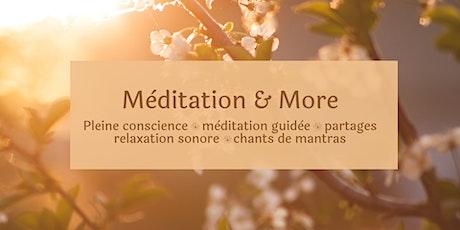 Méditation en ligne - Lâcher prise, retrouver la confiance et la sérénité tickets