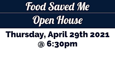 Saladmaster Owners ONLY: Food Saved Me Open House tickets