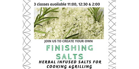 DIY Finishing Salts Workshop tickets