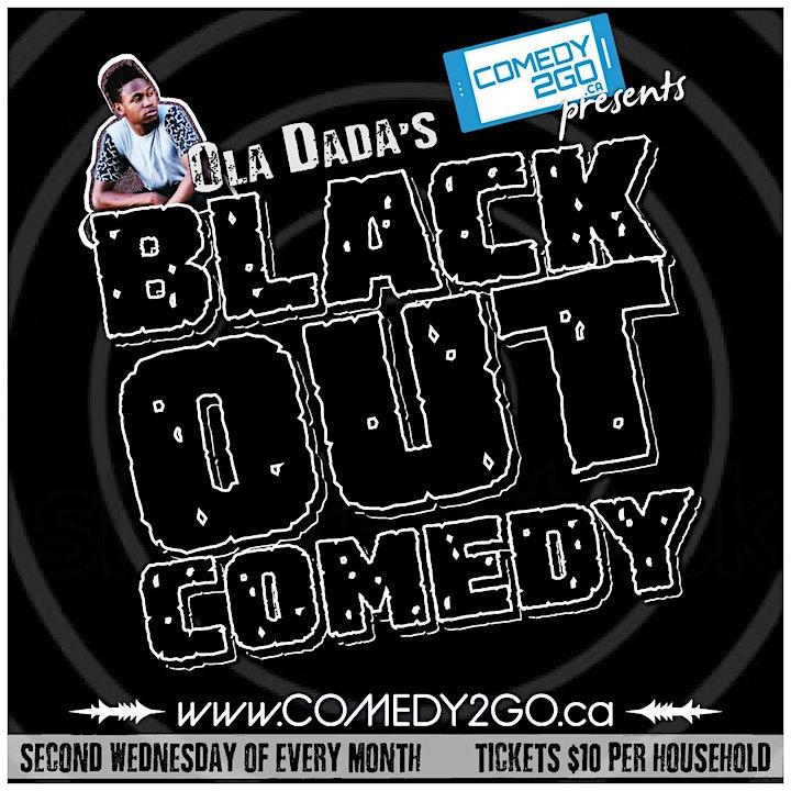 Comedy2Go presents: Ola Dada's Black Out Comedy image