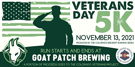 Veterans Day 5k @ Goat Patch Brewing | Colorado Brewery Running Series tickets