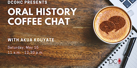 Oral History Coffee Chat tickets